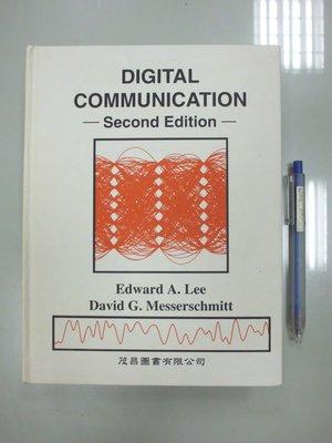 6980銤:A4-3cd☆民國83年出版『DIGITAL COMMUNICATION 2/e』Edward《茂昌》精裝