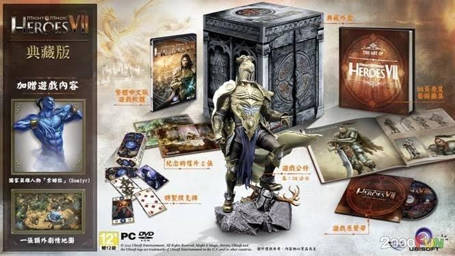 PCGAME-Might & Magic Heroes 7 魔法門之英雄無敵7典藏版 中英合版