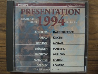 MWM◎【二手CD】Presentation 1994- Highlights from 1994 Releases