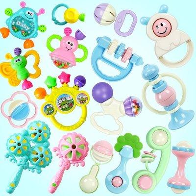 嬰兒玩具0-3-6個月 益智手抓搖鈴追視追聽訓練寶寶手鈴哄娃1歲