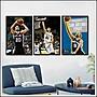 日本製畫布海報 NBA DUNCAN 馬刺 帕克 鄧肯 吉諾比利 雷納德 嵌框畫 掛畫 裝飾畫 @Movie PoP ~