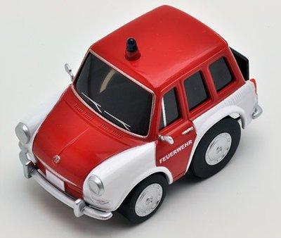 【秉田屋】TomyTec Z-32c Choro-Q 阿Q Volkswagen VW 福斯 Type III 消防車