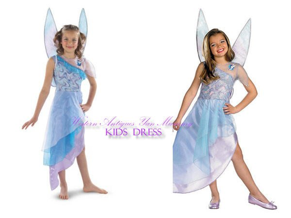 妍媽咪兒童禮服出租~大童迪士尼奇妙仙子Silvermist 造型服~萬聖節表演派對