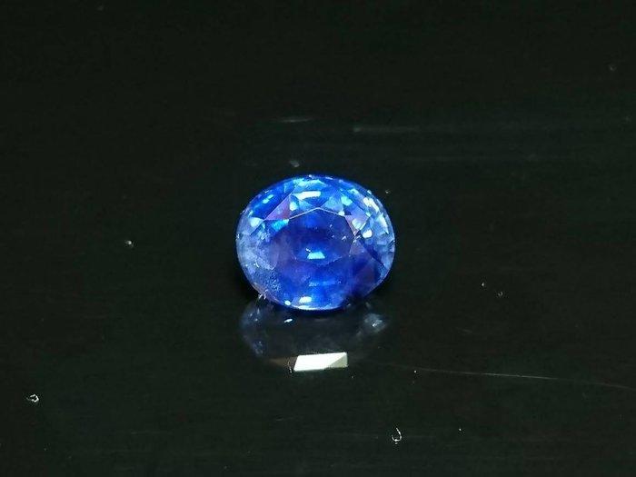 收藏級 5.1 克拉無燒錫蘭矢車菊藍藍寶石含國際證 [藍寶迷的家]