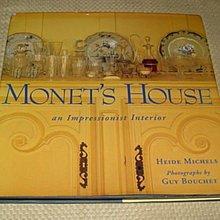 [賞書房] 1997 原文書@印象派大師 - 莫內之家《Monet's House》 by Heide Michels