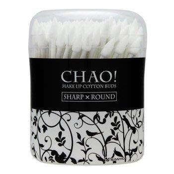 『山姆百貨』CHAO 清潔化妝棉花棒 尖頭+圓頭 130入 日本製 可門市自取 面交 超取