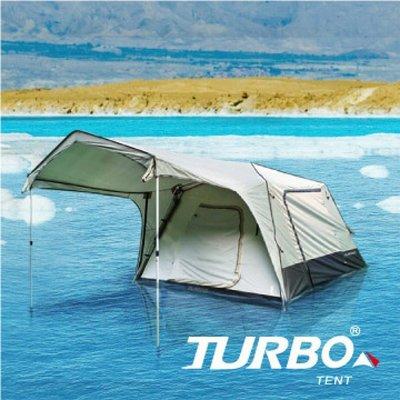 【大山野營】TURBO TT-TL270 TENT Lite 270 4-6人快速帳篷 專利快速帳 六人帳