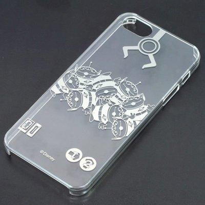 尼德斯Nydus~* 日本正版 Disney 迪士尼 透明系列 手機殼 保護殼 iphone5 5S 三眼怪 太空銀