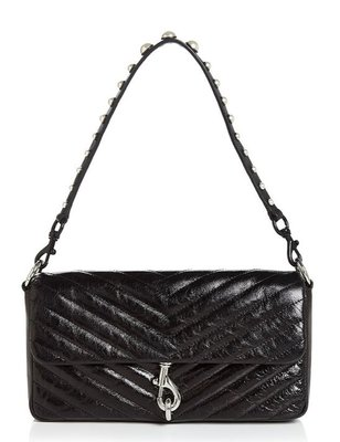 Rebecca Minkoff Edie Small Quilted Leather Clutch 12/1止