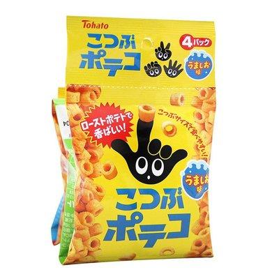 【大欣食品】東鳩手指圈圈4連 鹽味 日...