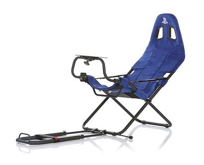 (宅配免運費)PLAYSEAT CHALLENGE PLAYSTATION版 挑戰者模擬賽車架 賽車椅 PS 藍色 公司