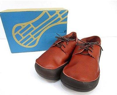 Fyfy名牌未使用品日本製Regetta Canoe牛皮厚底休閒鞋28.5~29cm  299 1元起標 馬丁鞋可參考