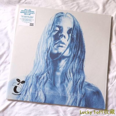 Lucky 1of1收藏Ellie Goulding Brightest Blue 黑膠 2LP