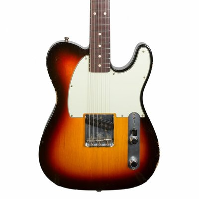 【幫你買】Fender Custom Shop 1959 Esquire Relic in 3 Tone Sunburst 整新機