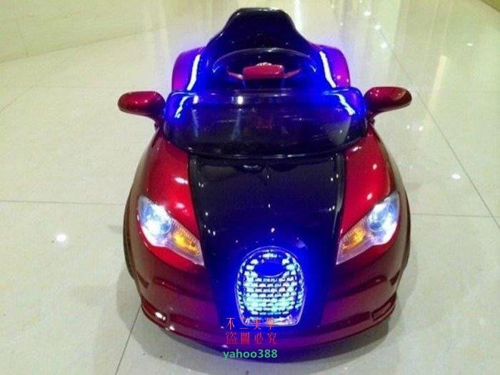 美學216布加迪概念車強勁上市兒童電動車雙驅四輪寶寶電瓶車可坐童車電動車遙❖59151