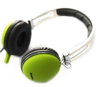 聯想 Lenov P766A 頭戴式耳機 帶麥克風 3.5mm,時尚 電腦耳麥 方便 攜帶 舒適
