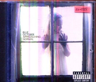 *還有唱片三館* BLUE OCTOBER / APPROACHING NORMAL 二手 ZZ0558 (封面底破)