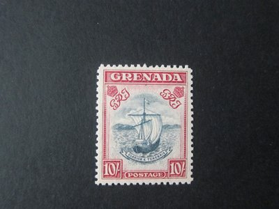 【雲品】格林納達Grenada 1938 Sc 142a perf.12 MH - scarce