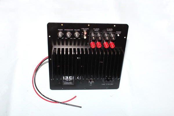 [山姆音響] 外銷歐盟CE認證-- 100W超重低音專屬擴大器