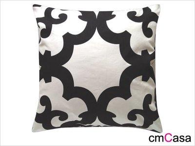 = cmCasa = [2488]後現代富復古設計 萬花後現代抱枕套 FUSION風格新設計