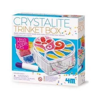【小瓶子的雜貨小舖】4M 美勞創作 04768 水晶珠珠寶盒 Trinket Box 手工藝 美勞教具