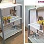 ZAKKA三層架展示桌(鞋櫃鞋架攝影棚收納櫃書架飾品櫃書架書櫃碗盤架木工木箱壁櫃中島多肉植物飾品櫃IKEA中島收銀檯攤位