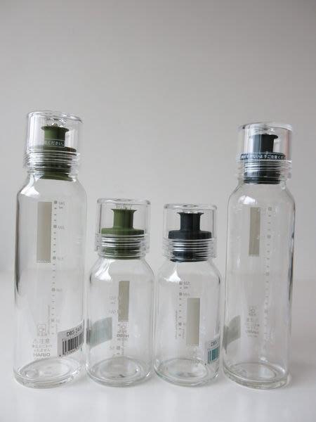 發現花園 日本選物~日本製 Hario 玻璃 醬油瓶 油醋瓶  醬料調味瓶 ~大綠/大黑