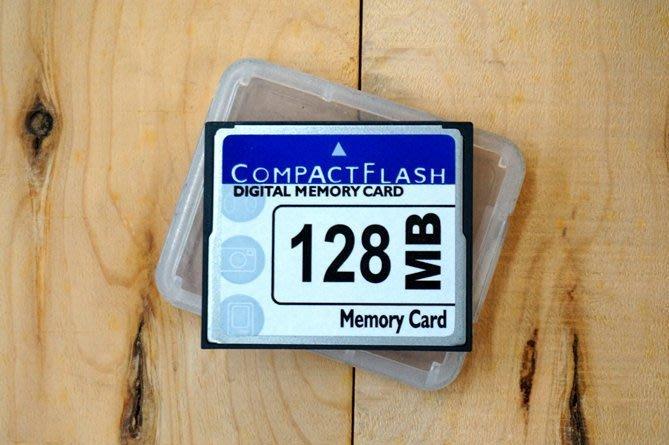 【中壢NOVA‧水世界】CF 128MB 128M 工業設備 機床 廣告機 點歌機 伴唱機 相機 標準速度 (三個月保固