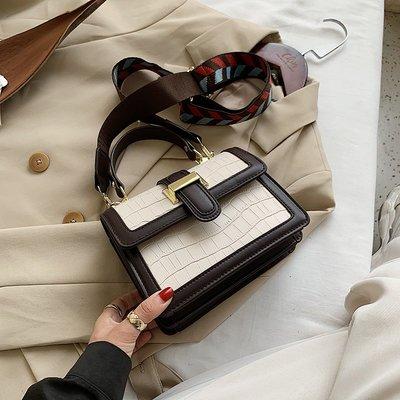 包包 斜挎包 小方包 單肩包 腋下包 手提包高級感洋氣包包女新款潮流時尚復古單肩斜挎包百搭小方包