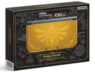 3DS New 3DS LL 薩爾達無雙 海拉魯版 限定主機 (不含遊戲,不含充電變壓器)  日版 全新品