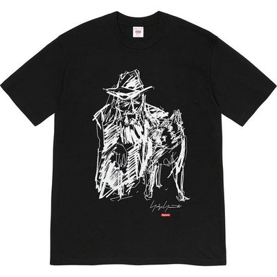 全新商品 Supreme 20FW Scribble Portrait 短袖 TEE