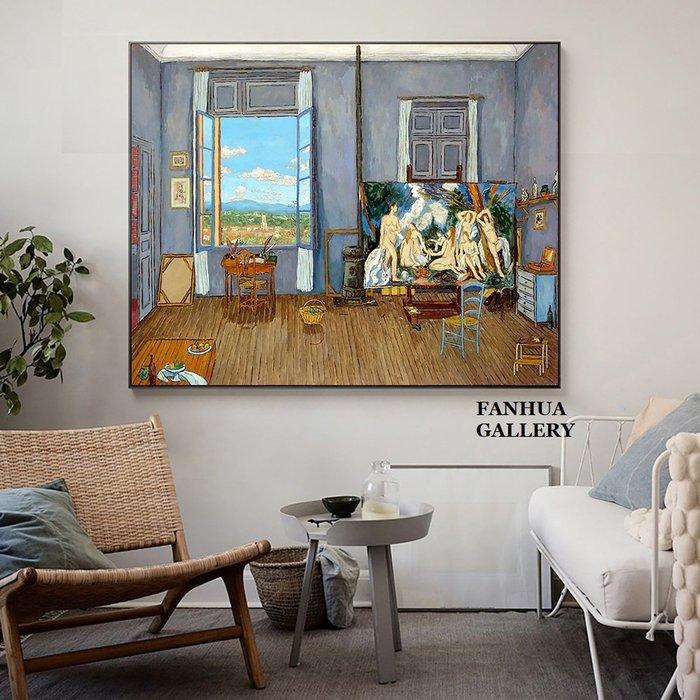 C - R - A - Z - Y - T - O - W - N Picasso畢卡索法國藝術版畫家埃及利亞女人掛畫名畫房間靜物油畫客廳餐廳辦公室藝術裝飾畫