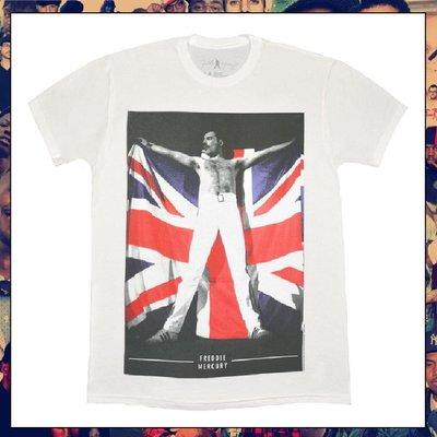 【三分之二】QUEEN Freddie Mercury Flag  //復古潮流/Tee
