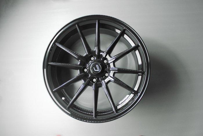 《台灣JGTC》框圈 COSMIS R1 黑色 EP08 主體 黑 R1 inch 尺寸 18 19 峻亞國際