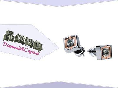 【晶鑽精飾(Diamond&Crystal)】-『羅亞戴蒙(ROYAL DAMON) 純真 耳環』