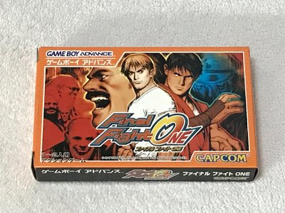 Gameboy advance GBA game Final Fight One 日版中古 靚盒
