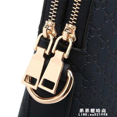[免運]真皮男包商務包新款男士手提包橫款公文包男式包包電腦斜挎單肩包—印象良品