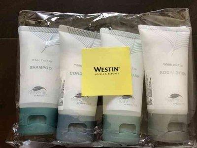 全新 宜蘭威斯汀 Westin 白茶系列旅行組/Nourish漱口水