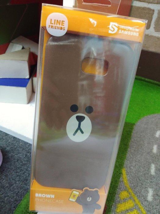 Line授權Samsung A7(2017)熊大手機殼