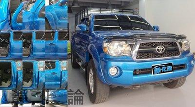 Toyota Tacoma 系列 可適用 (風切套組) 隔音條 全車隔音套組 汽車隔音條 靜化論 公司貨