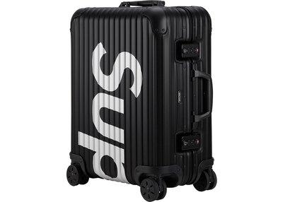 「Rush Kingdom」代購 Supreme RIMOWA Topas Multiwheel 45L 行李箱 登機箱