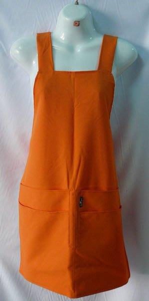 ☆°萊亞生活館 °44012全短圍裙-H型日式四口袋圍裙A086-工作圍裙-防潑水內裡