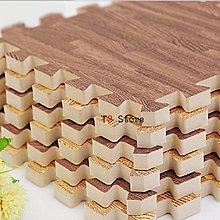 【T3】木紋地墊 30CM巧拼 木紋巧拼 拼接防滑踏墊 防水防污 仿木紋拼接墊【HF52】