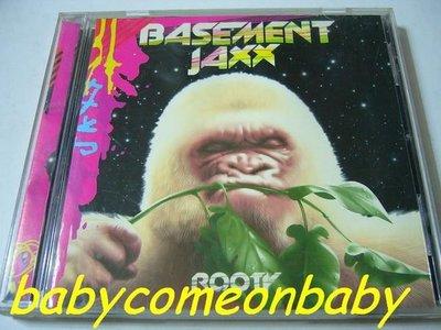 舊CD 英文專輯 BASEMENT JAXX 地下混音小子 ROOTY 根深蒂固