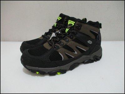 【喬治城】2019 LOTTO 機能型登山鞋 雪靴 防滑 反光 防潑水 軍綠黑 LT9AMO1255