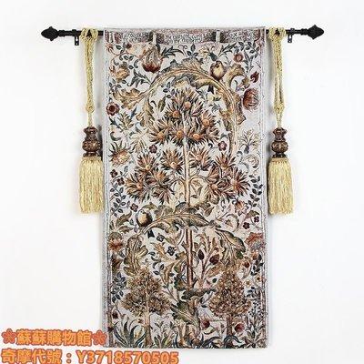 ❀蘇蘇購物館❀藝術挂毯客廳走廊歐式美式壁挂壁毯布藝裝飾畫挂布夏日溫柏-小鳥