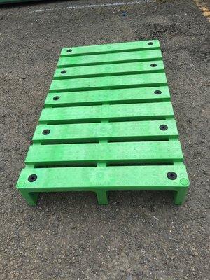 塑膠棧板 棧板 60*100*13公分 墊高 量販店 川字型
