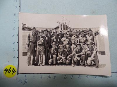 極早期,救國團,軍事戰鬥營,古董黑白,照片,相片2