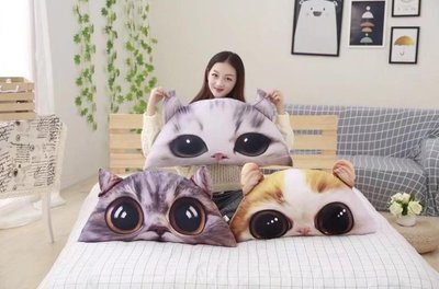 ☆汪汪鼠☆【130公分】半圓形貓咪床頭...