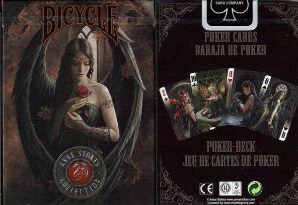 【意凡魔術小舖】 原廠 BICYCLE 撲克牌 Anne Stokes Fantasy Art 安妮托克藝術幻想